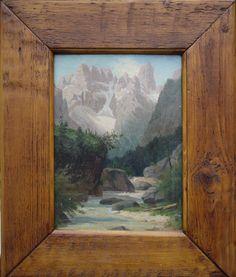 Antiques Missaglia - Italy - Dolomites - Monte Cristallo
