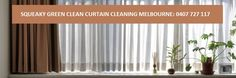 Squeaky Green Clean offers Onsite #CurtainCleaningMelbourne. Our curtain cleaners will extend life your drapery.