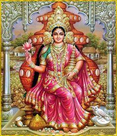 Goddess Kamala Devi is the last of the ten Maha Vidyas. She is the goddess of prosperity & purity. Maa Kamala puja remove misfortune & miseries from our life. Shiva Hindu, Shiva Shakti, Hindu Deities, Hindu Art, Hindu Rituals, Mother Kali, Divine Mother, Mother Goddess, Durga Images
