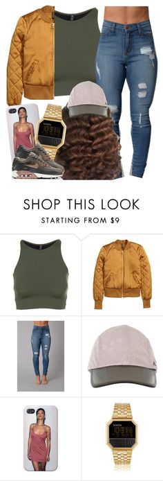 """✨"" by newtrillvibes ❤ liked on Polyvore featuring Onzie, adidas, Nixon and NIKE"