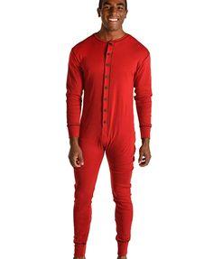 Adults Mens Pajamas Pjs Pyjamas Long Manche Top Pants Plain Blue Navy Red Poison