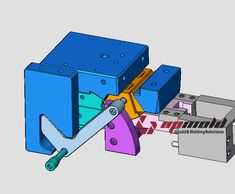 T branch injection mold Plastic Moulding, Plastic Injection Molding, Mechanical Design, Mechanical Engineering, Injection Mold Design, 3d Cad Models, Mould Design, Plastic Molds, Machine Design