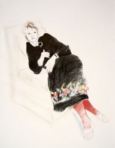 David Hockney - Picture of Celia....heading to one of my walls shortly    Google Image Result for http://geeseamongstlions.com/wp-content/uploads/2010/11/celia-david-hockney.jpg