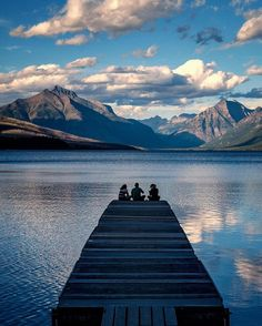 I've been coming to Glacier National Park for years, and each time I discover something new and extraordinary. It's a park with an old soul that just keeps surprising and delighting at every turn. I always hit up Lake McDonald on the west side first, and this day I happened to find some friends chilling on this dock at the south end of the lake. Looks like a good place to spend some quality time with good friends, right?  Glacier National Park (40 of 59)  Shot with FUJIFILM X-T1 and…