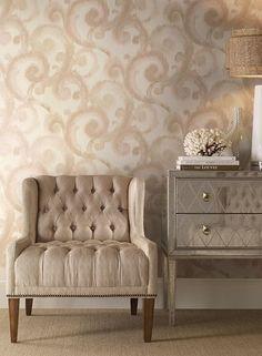 CN2192 Modern Artisan Arabesque color family Neutral brand Candice Olson Wallpaper. Thanks for shopping Mahones