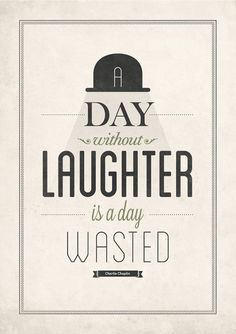 Charlie Chaplin quote poster by NeueGraphic