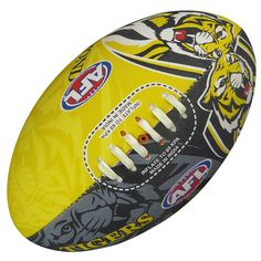 Richmond Tigers Footy Ball by Burley