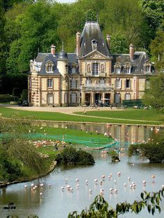 Замок Саваж (Château de Sauvage), Франция