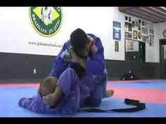 DAN INOSANTO training BRAZILIAN JIU JITSU with JOHN MACHADO