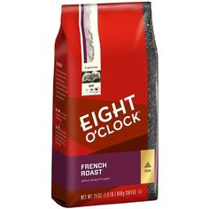 Eight O'Clock Ground Coffee, French Roast, 24 Ounce - You don't get to be 150 years young without reinventing yourself every once in a while. Throughout the years, we've explored new varieties. Changed our look. Rolled out ground coffee and single-serving Keurig K-Cup packs. But there are some things we'll never change. For star...