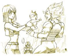 + Daddy Vegeta + by BoGilliam.deviantart.com on @deviantART