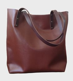 Small Leather Tote | Women's Bags & Wallets | TCLA | Scoutmob Shoppe | Product Detail