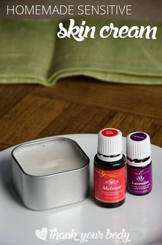 Homemade skin cream for sensitive skin. A great alternative to other eczema creams.