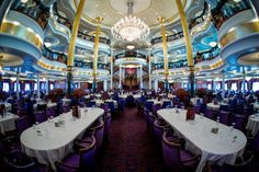 Adventure of the Seas Main Dining Room  Website: http://patelcruises.com/  Email: patelcruises.com@gmail.com