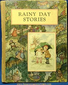 Old McLoughlin Brothers Rainy Day Childrens Story Book, book brothers Childrens Day McL. : Old McLoughlin Brothers Rainy Day Childrens Story Book, book brothers Childrens Day McLoughlin Rainy Story vintagebook McLoughlin Brothers Rainy Vintage Book Covers, Vintage Children's Books, Antique Books, Vintage Stuff, Illustration Art Nouveau, Children's Book Illustration, Book Cover Art, Book Art, Old Children's Books