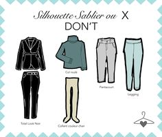 Fashion infographic : Ma Personal Wardrobe : zoom sur la silhouette Sablier ou X Mix And Match Fashion, Love Fashion, Fashion Beauty, Fashion Infographic, Couture Sewing, Hourglass Figure, Classic Outfits, Mode Style, Dressing