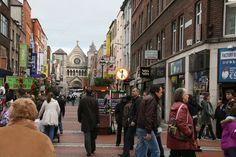 Grafton Street, Dublin City Ireland