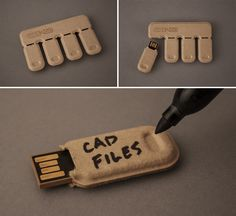 Gigs 2 Go Tear & Share Recycled Paper Flash Drives, Yea or Nay?