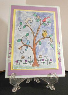 Happy tree by Ginadapooh on Etsy