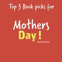 Brace yourself, we are going to share our top 3 book picks for Mother's Day on our theme book board and they are epic! What will you be reading?