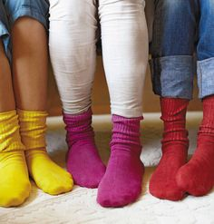 Hand-Dyed Cotton Socks - Healthy Homes - Mother Earth Living