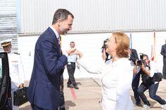 El rey Felipe visitó la Planta que la multinacional General Motors tiene en Figueruelas - 12/9/2014