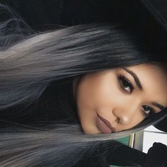 33 trendy ombre hair color ideas of 2019 - Hairstyles Trends Ombre Hair Color, Cool Hair Color, Dark Hair Colours, Ombré Hair, New Hair, Cabelo Ombre Hair, Straight Hairstyles, Cool Hairstyles, Glamorous Hairstyles