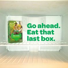 Go ahead.  Eat that last box.