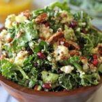 Kale Quinoa Salad with Lemon Vinaigrette