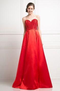 Prom Dress w/ Corset Bodice