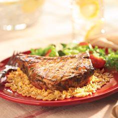 Côtelettes De Porc Grillées Sucrées-Piquantes Recipe | French's®