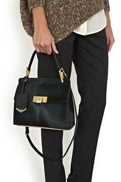 a2588b4fc1 BALENCIAGA Le Dix Cartable Ponyskin Bag