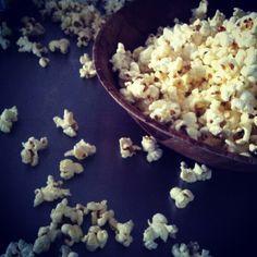 Homestyle stovetop popcorn! Yum!