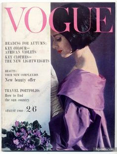 Photo by Frank Horvat, Vogue UK, August 1960 *