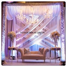 Discover thousands of images about Designhousedecor Backdrop Decorations, Indian Wedding Decorations, Reception Decorations, Event Decor, Backdrops, Diy Backdrop, Wedding Mandap, Wedding Stage, Wedding Events