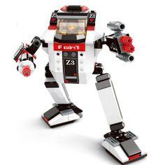 Sluban DIY Z3 NIGHT ATTACK ARMOUR Building Blocks Kids Toys - Blue Products- - TopBuy.com.au