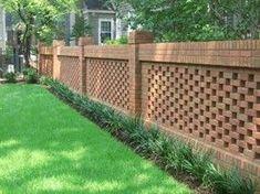 Masonry Fences