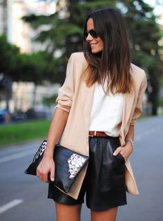Top 10 Latest Casual Fashion Trends This Summer 40 Super Attractive Street Fashion Styles for 2016 The Best of casual outfits in Look Fashion, Street Fashion, Autumn Fashion, Fashion Quiz, Simply Fashion, Fashion Details, Fashion Clothes, Spring Fashion, Fashion Dresses