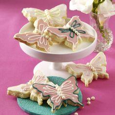 Mürbeteig-Schmetterlinge Rezept