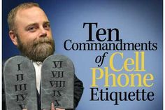 July is Cell Phone Courtesy Month.  What's your biggest pet peeve about how people use their cells? http://chargetech.com/tips-cell-phone-etiquette/ #HotSpotSocMed