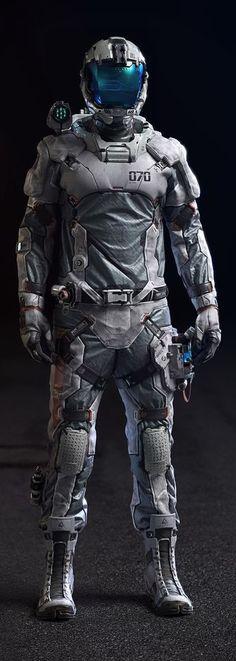 Col. Rigel (Lightweight EVA suit) Full Suit