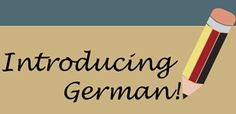 Teaching German materials for elementary and middle school students