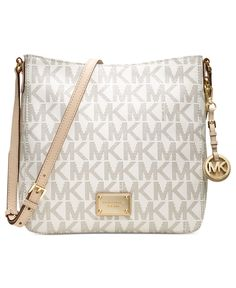 MICHAEL Michael Kors Jet Set Travel Large Messenger Bag by Macy's - Found on HeartThis.com @HeartThis | See item http://www.heartthis.com/product/189656905368446078?cid=pinterest