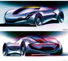 Porsche Sketch FCD94
