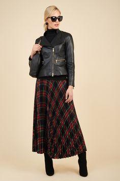 Soft nappa leather jacket.