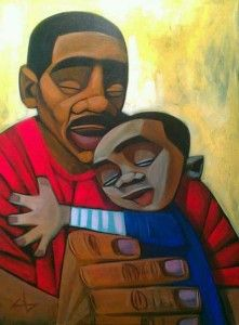 The Art Curator for Kids - Fathers in Art History - Cbabi Bayoc, 365 Days with Dad, 2012
