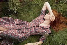 """Against Nature - Though Amy Adams calls her unadorned hair color """"golden retriever,"""" """"I absolutely identify as a redhead,"""" she says. Her upcoming feature, Tim Burton's Big Eyes, required the actress to take on a peroxide-blonde bouffant, but she was quick to return to her adopted hue. """"Redheads have a get out of jail free card when it comes to their temper and their sense of humor,"""" she says. """"That suits my personality."""" Photographed by Annie Leibovitz."""