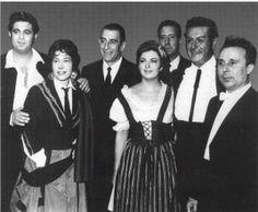 Carmen (Chile, 1967): Plácido Domingo, Regina Resznik, Ramón Vinay, Anton Guadagno y otros