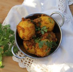 Hing Diye Alur Dom - Traditional Bengali Pot Roasted Potatoes.