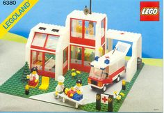LEGO 6380-1: Emergency Treatment Center | Brickset: LEGO set guide and database